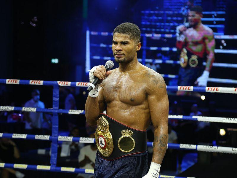 Anthony Sims Jr at Legacy Boxing Series - Atlantis, The Palm in Dubai