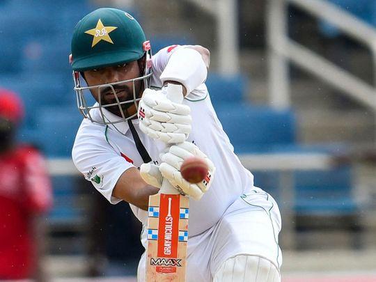 Babar Azam of Pakistan v West Indies