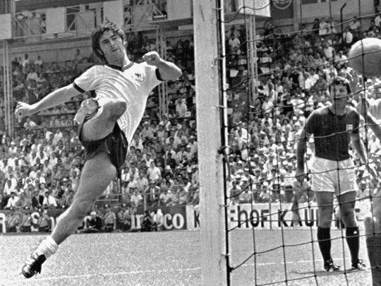Germany's Gerd Mueller