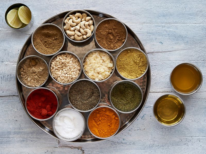 Ingredients for chicken tikka masala