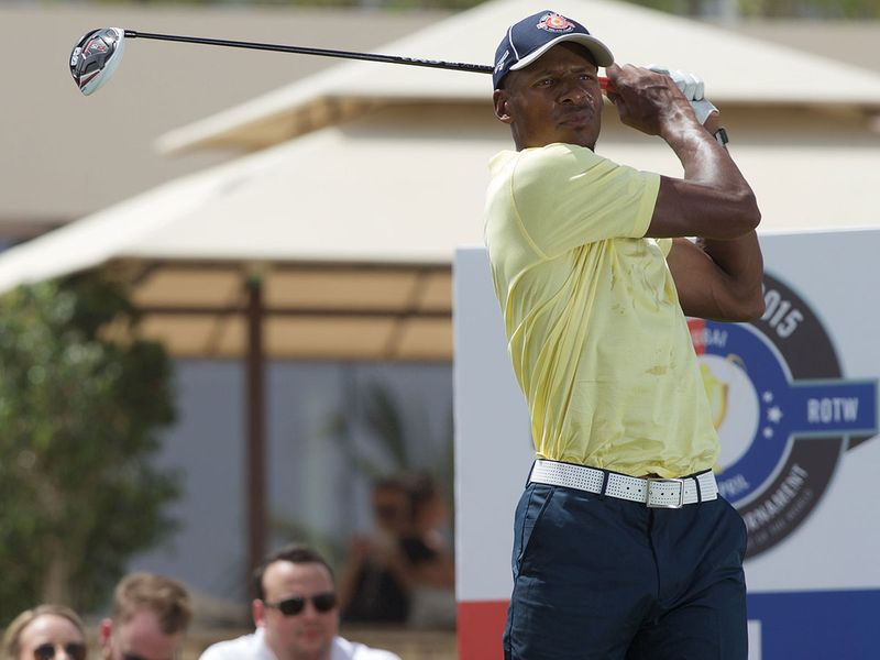 Ray Allen during the Icons Cup 2015 Dubai