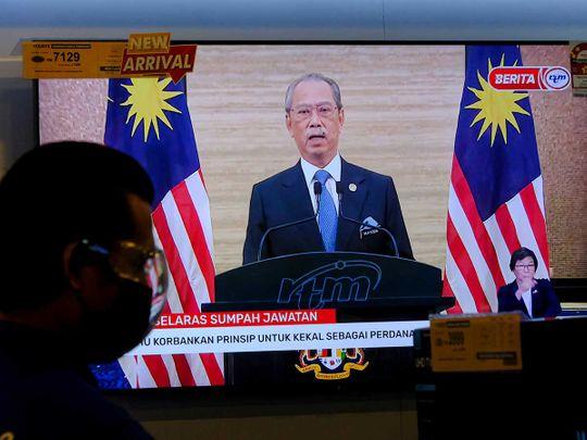 Malaysia's Prime Minister Muhyiddin Yassin