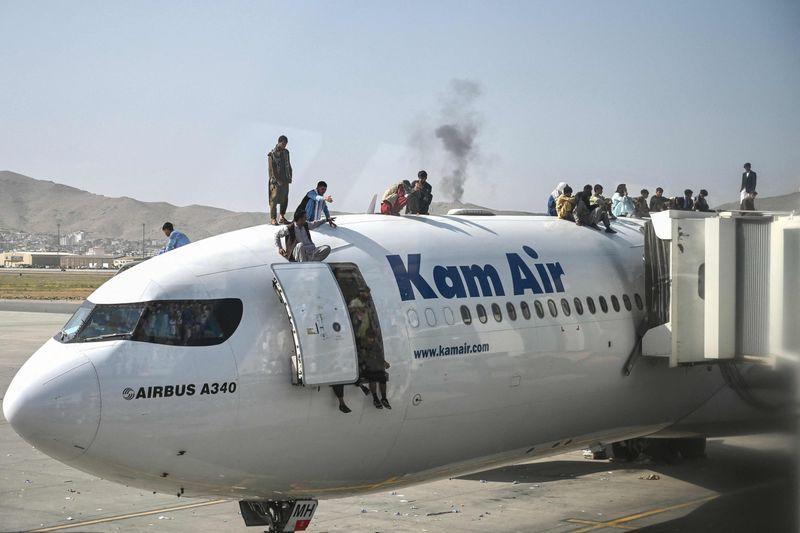 Afghan Taliban Kabul airport