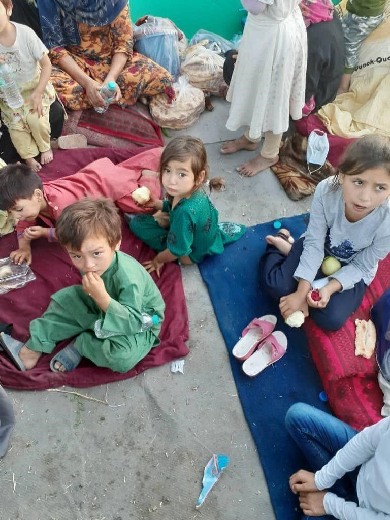 Afghan children Kabul