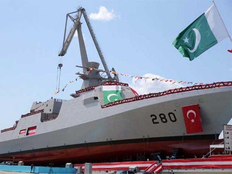 Pakistan navy corvette Babur