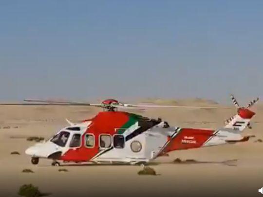 210817 Air ambulance