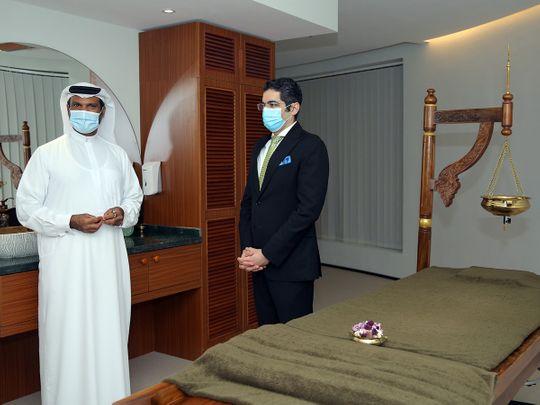 Abdullah Ibrahim Lootah and Dr. Aman Puri-1629202141646