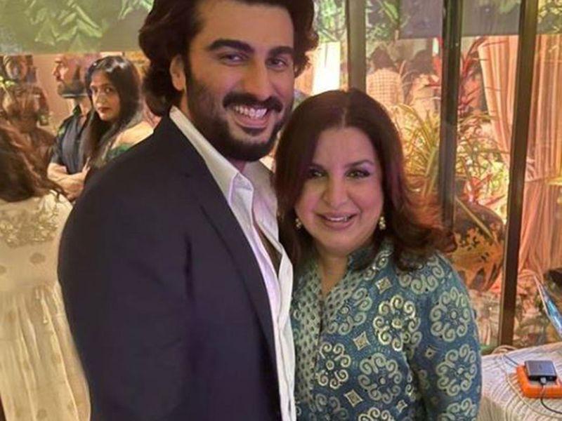 Arjun Kapoor and Farah Khan