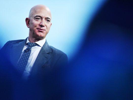 Blue Origin founder Jeff Bezos