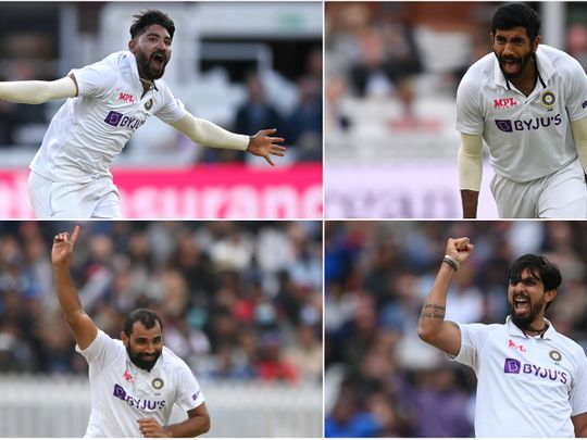Cricket - pace bowlers