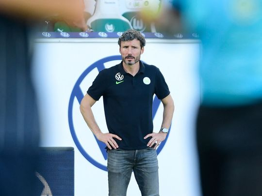 Wolfsburg coach Mark van Bommel