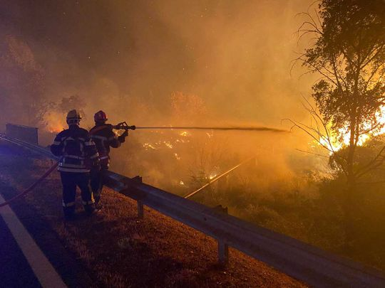 france wildfire