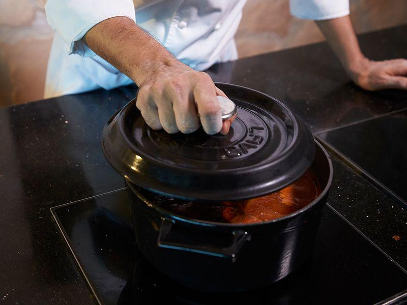 Cooking Khyber Raan