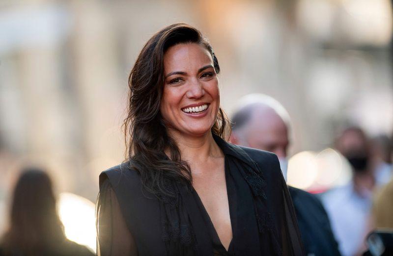 Director-writer Lisa Joy arrives for the Warner Bros premiere of