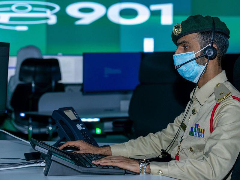 Dubai Police control room