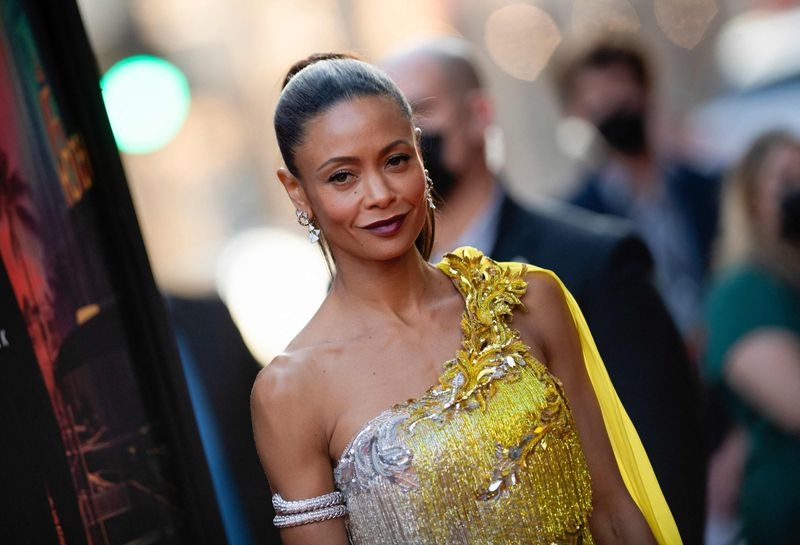 English actress Thandiwe Newton arrives for the Warner Bros premiere of