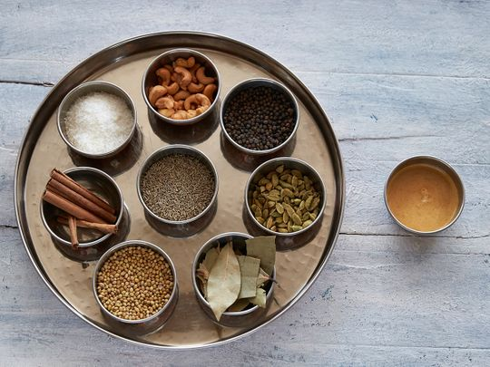 Ingredients for cashew paste