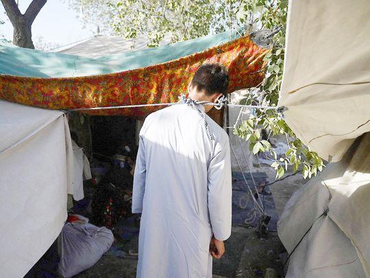 Internally displaced Abdullah