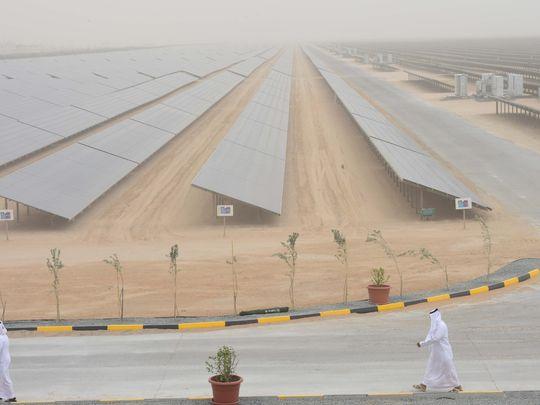 Mohammed bin Rashid Solar park