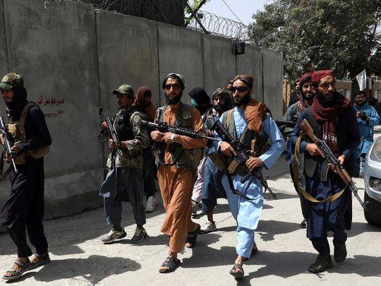 Taliban fighters kabul afghan