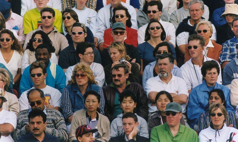 Tennis - Crowd