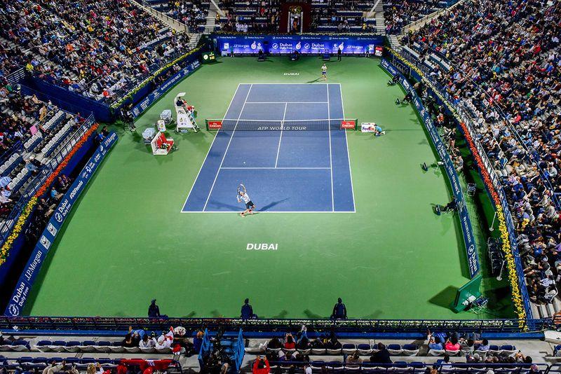 Tennis - Dubai Duty Free