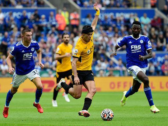 Wolverhampton Wanderers' Raul Jimenez back in action