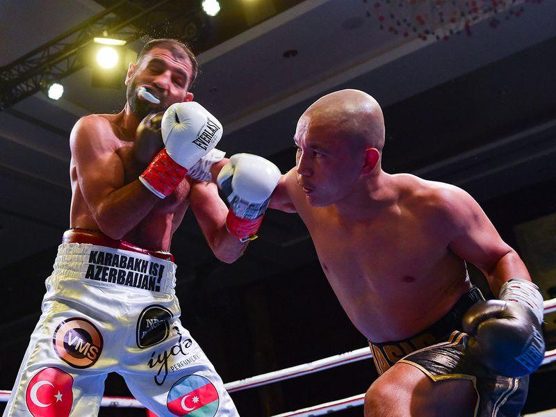 Dubai Rising Stars boxing event at Conrad hotel in Dubai.  Ahmed Ramzan/Gulf News