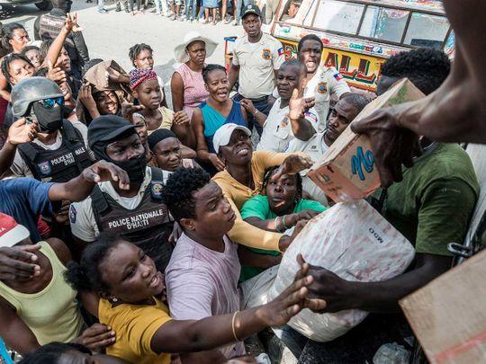 Haiti quake relief