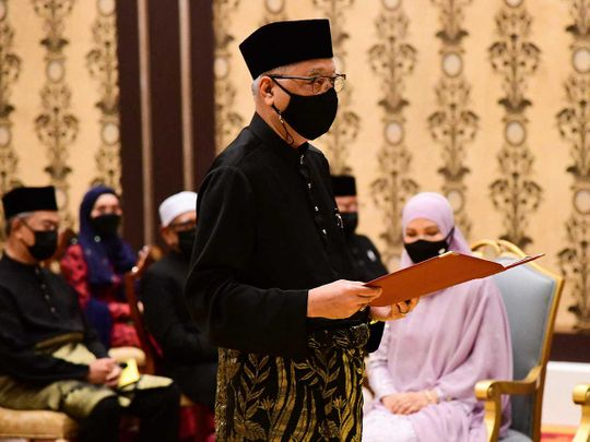 Malaysia's incoming Prime Minister Ismail Sabri Yaakob