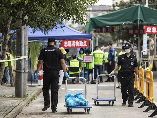 china shanghai covid shutdown