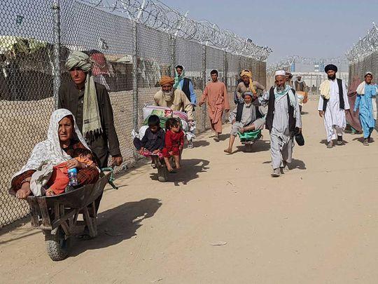 pakistan afghan border refugees