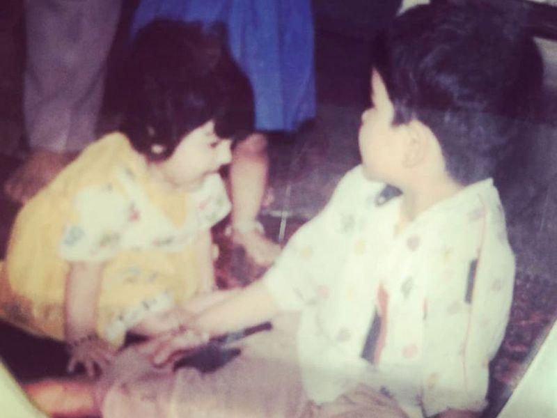 Anushka Sharma and her brother