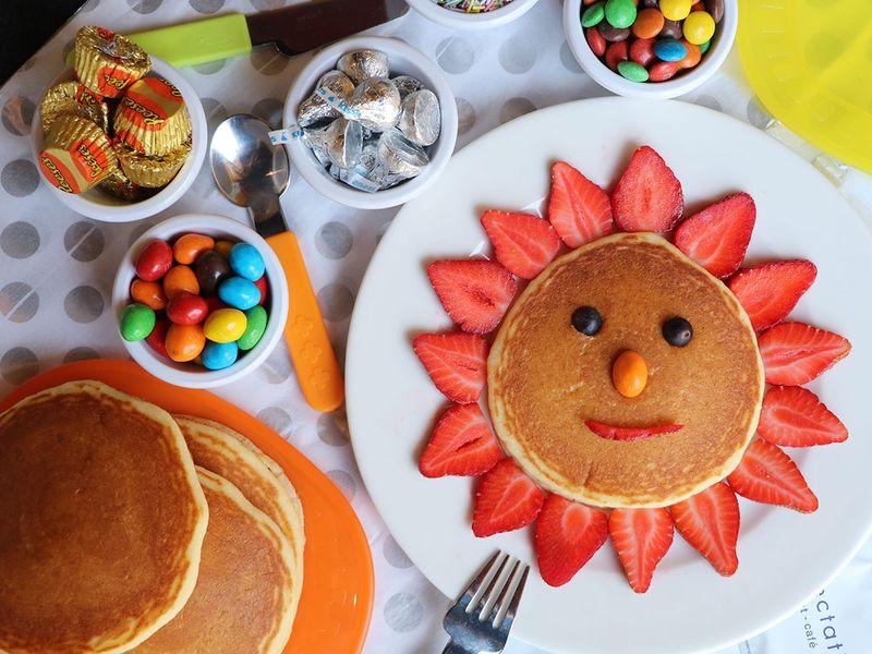 Eggpection pancakes