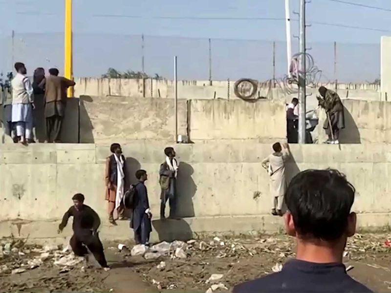 Kabul airport Afghan