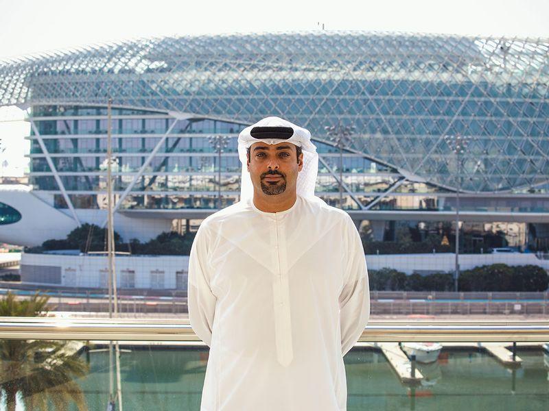 Saif Al Noaimi of Abu Dhabi Motorsports Management