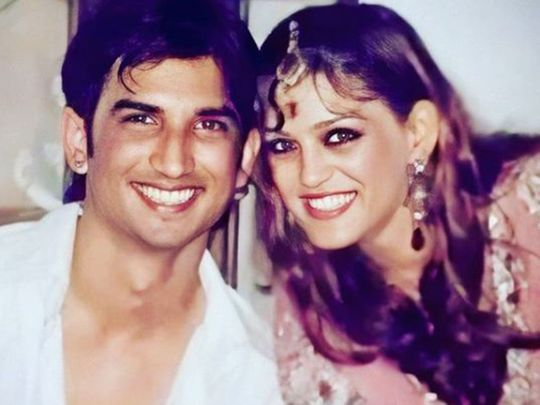 Sushant Singh Rajput with his sister Shweta Singh Kirti