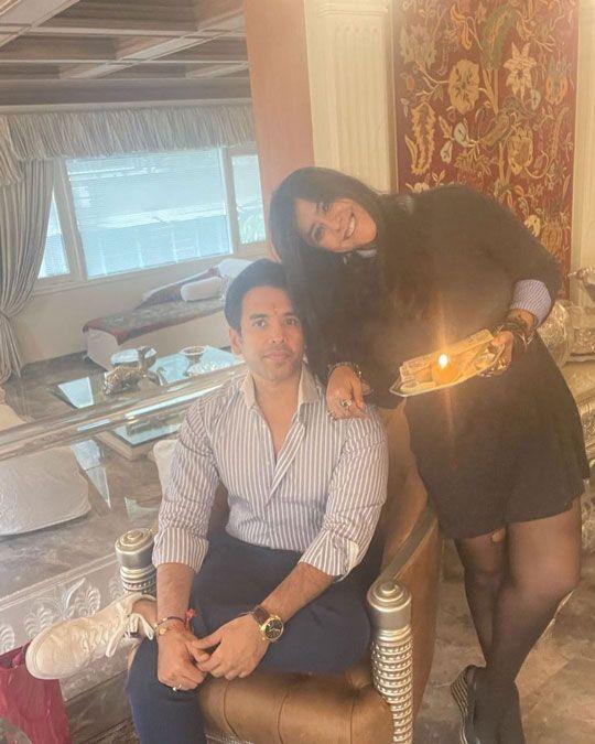 Tusshar Kapoor and Ekta Kapoor