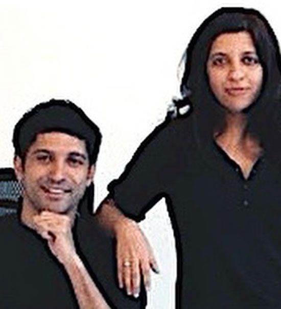Zoya and Farhan Akhtar