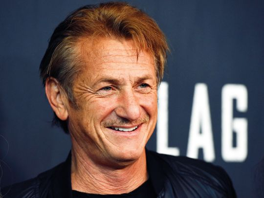 """Cast member Sean Penn arrives at the Los Angeles premiere of """"Flag Day"""