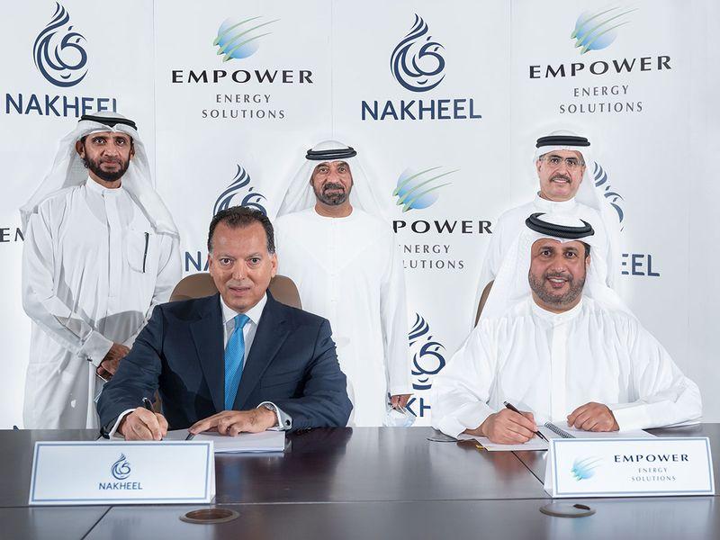Empower and Nakheel