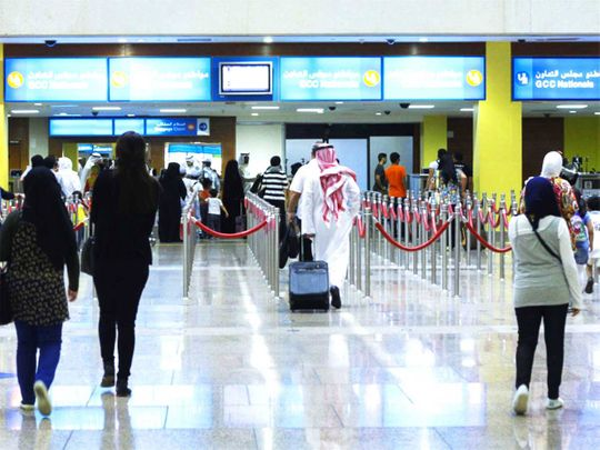 gulfnews.com - John Benny - Check-ins using just selfies? Dubai International Airport could soon have these facilities and more