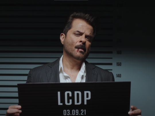 Anil Kapoor in the Indian version of the 'Money Heist' song 'Bella Ciao'