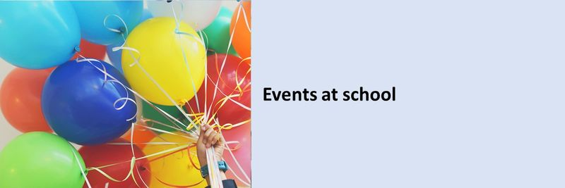Events at school