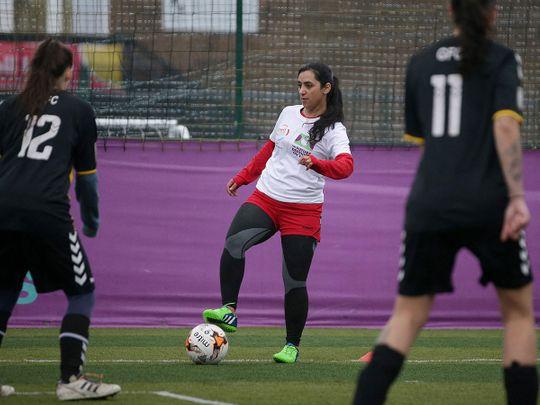 Former Afghanistan women's football captain Khalida Popal