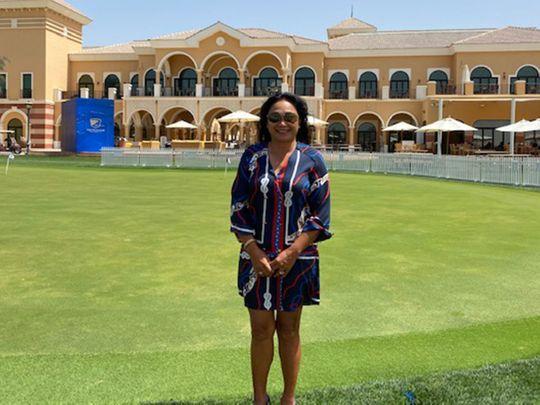 Pia Fleury of Desert Rose Golfing Society