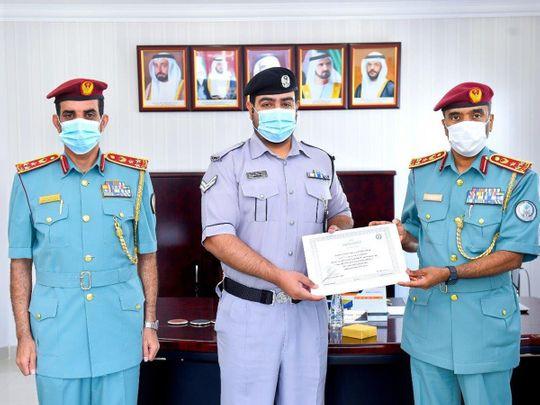 Sharjah Police honours-1629792125435