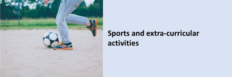 Sports and extra-curricular activities