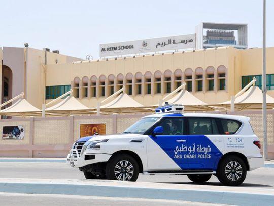 Stock Abu Dhabi Police