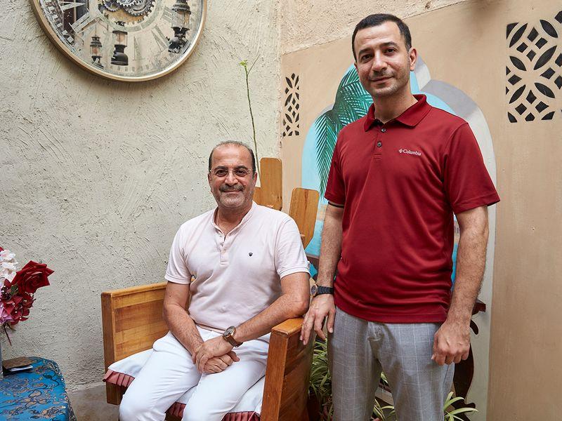 The two businessmen who run Al Bait Alqadeem